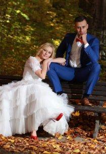 Pani Wiola w sukni marki Fulara&Żywczyk - model Balbina