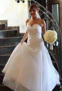 Pani Ewelina w sukni z kolekcji Agnes Bridal Dream - model 11377