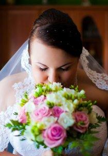 Pani Małgosia w sukni z kolekcji Agnes Bridal Dream - model 10790
