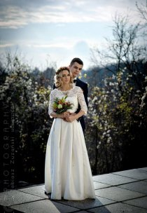 Pani Martyna w sukni marki Agnes Bridal Dream - model 11290