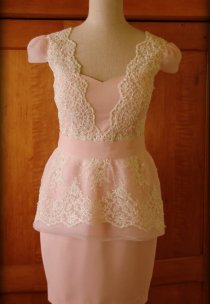 Subtelna sukieneczka na poprawiny Pani Natalii.